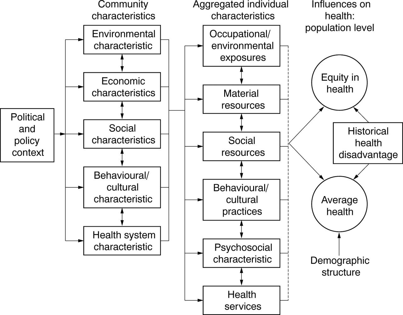 Conceptual diagrams in public health research journal of for Conceptual architecture diagram