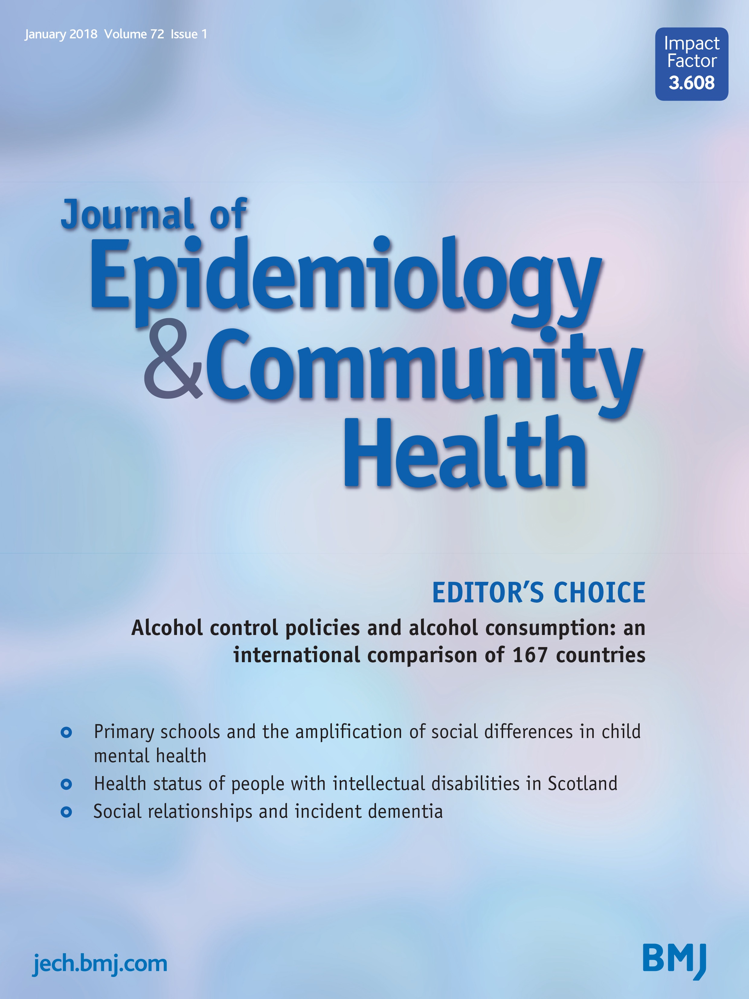 Alcohol Control Policies And Alcohol Consumption An International