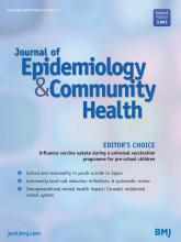 Journal of Epidemiology and Community Health: 70 (11)